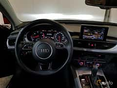 Interior of Audi A6 allroad quattro 3.0 TDI V6 clean diesel quattro S Tronic, 272ps, 2017