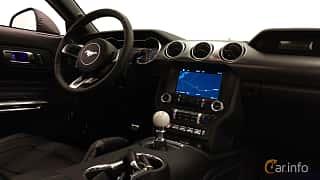 Interiör av Ford Mustang GT 5.0 V8 Manual, 457ps, 2018