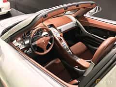 Interiör av Porsche Carrera GT 5.7 V10 Manual, 612ps, 2003