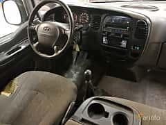 Interior of Hyundai H-1 Pickup 2.5 TD Manual, 99ps, 2005
