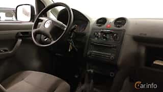 Interior of Volkswagen Caddy Panel Van 2.0 SDI Manual, 69ps, 2004