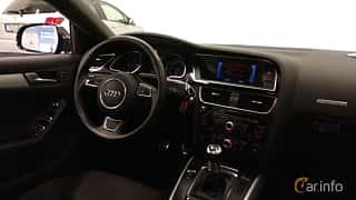 Interiör av Audi A5 Sportback 2.0 TDI clean diesel quattro  Manual, 190ps, 2016