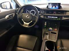Interiör av Lexus CT 200h 1.8 CVT, 136ps, 2016