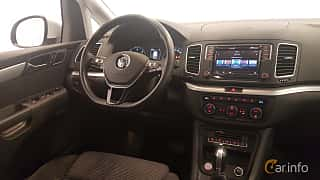 Interiör av Volkswagen Sharan 2.0 TDI DSG Sequential, 150ps, 2016