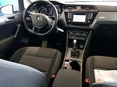 Interiör av Volkswagen Touran 2.0 TDI  DSG Sequential, 150ps, 2017