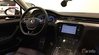 Interior of Volkswagen Passat Alltrack 2.0 TSI 4Motion DSG Sequential, 220ps, 2018