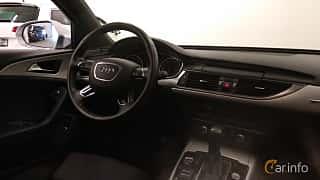 Interior of Audi A6 Avant 2.0 TDI quattro S Tronic, 190ps, 2016