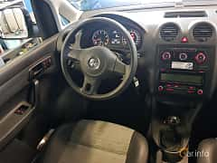 Interior of Volkswagen Caddy Panel Van 2.0 EcoFuel Manual, 109ps, 2011