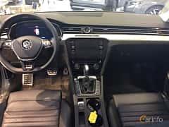 Interior of Volkswagen Passat Alltrack 2.0 TDI SCR BlueMotion 4Motion DSG Sequential, 190ps, 2018