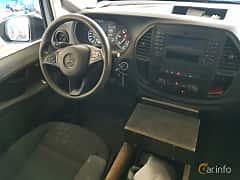 Interior of Mercedes-Benz Vito 114 CDI  7G-Tronic Plus, 136ps, 2015