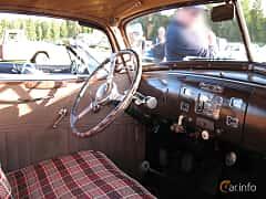 Interior of Hudson Custom Eight Touring Sedan 4.2 Manual, 123ps, 1937