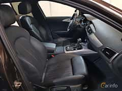 Interior of Audi A6 allroad quattro 3.0 TDI V6 clean diesel quattro S Tronic, 218ps, 2017