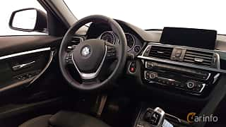 Interiör av BMW 320d Touring  Steptronic, 190ps, 2016