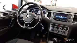 Interiör av Volkswagen Golf Sportsvan 1.6 TDI BlueMotion Manual, 110ps, 2016