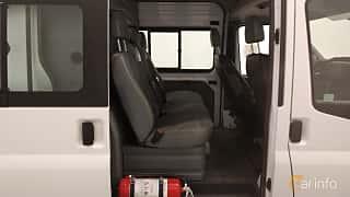 Interior of Ford Transit Crew Cab 2.2 TDCi Manual, 125ps, 2013