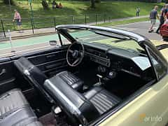 Interior of Ford Fairlane GT Convertible 6.4 V8 Automatic, 324ps, 1967 at Father's Day Classic Car Show New York 2019