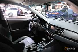 Interior of Kia Niro 1.6 DCT, 146ps, 2017 at North American International Auto Show 2017