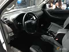 Interior of Isuzu D-Max Space Cab 1.9 4WD Manual, 163ps, 2018 at Warsawa Motorshow 2018
