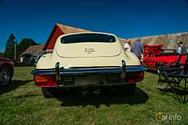 Back of Jaguar E-Type 2+2 4.2 XK Manual, 269ps, 1969 at Sportbilsklassiker Stockamöllan 2019