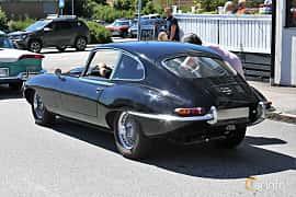 Back/Side of Jaguar E-Type 4.2 XK Manual, 269ps, 1967 at Cruising Lysekil 2019