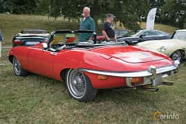 Bak/Sida av Jaguar E-Type Roadster 4.2 XK Manual, 269ps, 1970 på Thulinträffen 2017