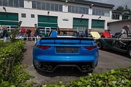 Back of Jaguar Project 7  Automatic, 575ps, 2016 at Joe's garage 2019´s stora Jaugurevent