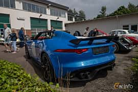 Back/Side of Jaguar Project 7  Automatic, 575ps, 2016 at Joe's garage 2019´s stora Jaugurevent