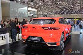 Bak/Sida av Jaguar I-Pace 90 kWh AWD Single Speed, 400ps, 2016