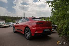 Back/Side of Jaguar I-Pace EV400 AWD  Single Speed, 400ps, 2019 at Joe's garage 2019´s stora Jaugurevent