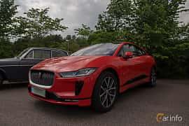 Front/Side  of Jaguar I-Pace EV400 AWD  Single Speed, 400ps, 2019 at Joe's garage 2019´s stora Jaugurevent