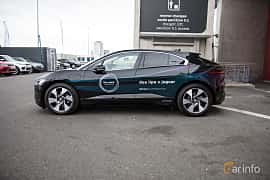 Sida av Jaguar I-Pace EV400 AWD 90 kWh AWD Single Speed, 400ps, 2019 på Paris Motor Show 2018