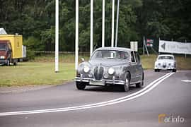 Fram/Sida av Jaguar Mark 2 2.5 XK Manual, 120ps, 1962 på Lergökarallyt 2017