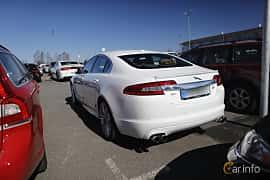 Bak/Sida av Jaguar XFR 5.0 V8 Automatic, 510ps, 2011