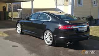 Back/Side of Jaguar XF 3.0 V6 Automatic, 241ps, 2010