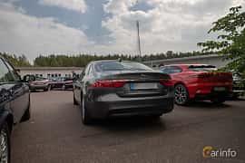 Back/Side of Jaguar XF E-Performance  Automatic, 163ps, 2016 at Joe's garage 2019´s stora Jaugurevent