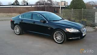 Front/Side  of Jaguar XF 3.0 V6 Automatic, 241ps, 2010