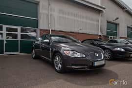 Front/Side  of Jaguar XF 2.7 V6 Automatic, 207ps, 2009 at Joe's garage 2019´s stora Jaugurevent