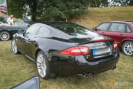 Back/Side of Jaguar XKR 5.0 V8 Automatic, 510ps, 2012 at Thulinträffen 2017