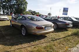 Back/Side of Jaguar XKR 4.0 V8 Automatic, 363ps, 2002 at Tisdagsträffarna Vikingatider v.21 / 2018
