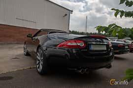 Back/Side of Jaguar XKR Convertible 5.0 V8 Automatic, 510ps, 2013 at Joe's garage 2019´s stora Jaugurevent