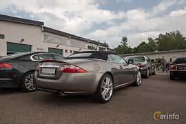 Back/Side of Jaguar XK Convertible 3.5 V8 Automatic, 258ps, 2009 at Joe's garage 2019´s stora Jaugurevent