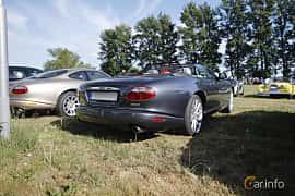Back/Side of Jaguar XK Convertible 4.2 V8 Automatic, 298ps, 2006 at Tisdagsträffarna Vikingatider v.21 / 2018