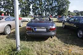 Back of Jaguar XK Convertible 4.2 V8 Automatic, 298ps, 2006 at Tisdagsträffarna Vikingatider v.21 / 2018