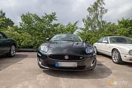 Front  of Jaguar XKR Convertible 5.0 V8 Automatic, 510ps, 2013 at Joe's garage 2019´s stora Jaugurevent