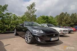 Front/Side  of Jaguar XKR Convertible 5.0 V8 Automatic, 510ps, 2013 at Joe's garage 2019´s stora Jaugurevent