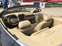 Interior of Jaguar XKR Convertible 4.2 V8 Automatic, 416ps, 2007 at Old Car Land no.1 2017