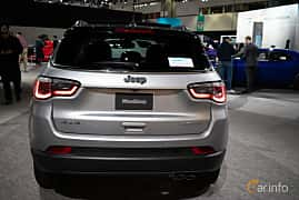 Back of Jeep Compass 2.0 VVT 4WD Automatic, 170ps, 2019 at LA Motor Show 2018
