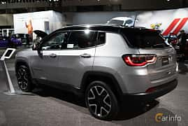 Back/Side of Jeep Compass 2.0 VVT 4WD Automatic, 170ps, 2019 at LA Motor Show 2018