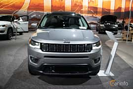 Front  of Jeep Compass 2.0 VVT 4WD Automatic, 170ps, 2019 at LA Motor Show 2018