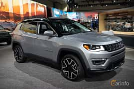 Front/Side  of Jeep Compass 2.0 VVT 4WD Automatic, 170ps, 2019 at LA Motor Show 2018